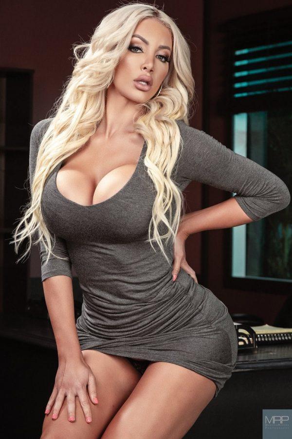 Nicolette Shea Grey Dress